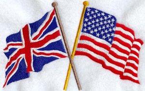 America versus british flag